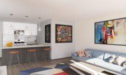 I1Anterior Living Room - Kitchen