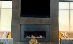 Statesman-Clubhouse Fireplace-Apartments